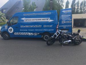 transport et livraison de Harley Davidson partout en france toulouse